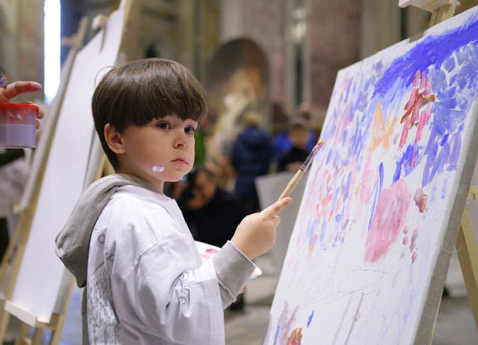 Как рисуют дети от 10 до 11 лет